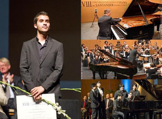 XIX Santander International Piano Competition.  Photo Gallery